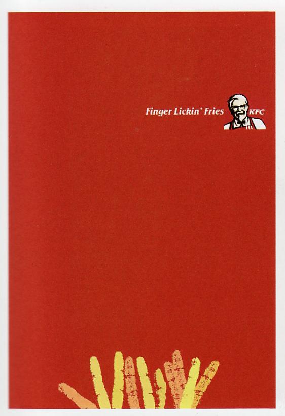 KFC Poster Design