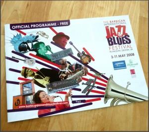 Barbican International Jazz and Blues Festival Brochure
