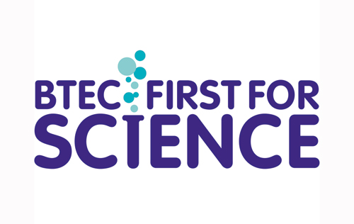 BTEC First for Science Logo Design