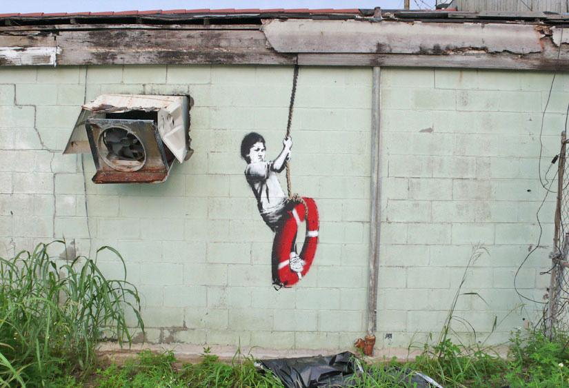 Hurricane Katrina Banksy