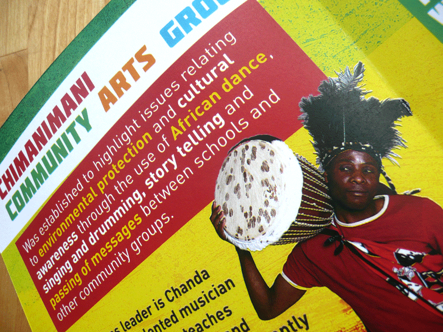 Chimanimani Community Arts - Brochure Design