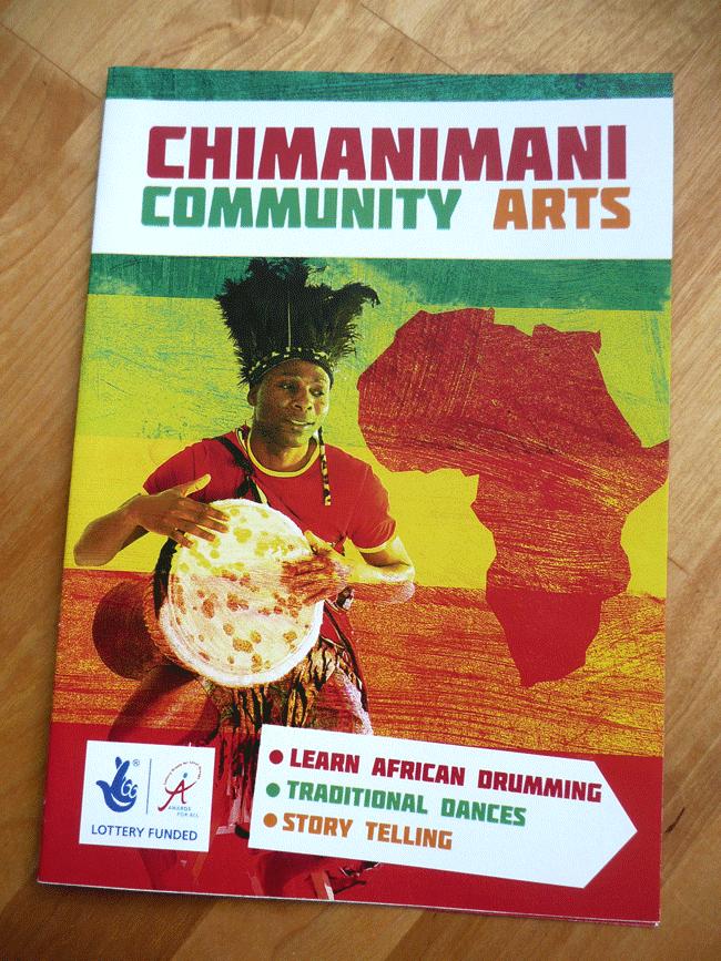 Chimanimani Community Arts - Brochure Design
