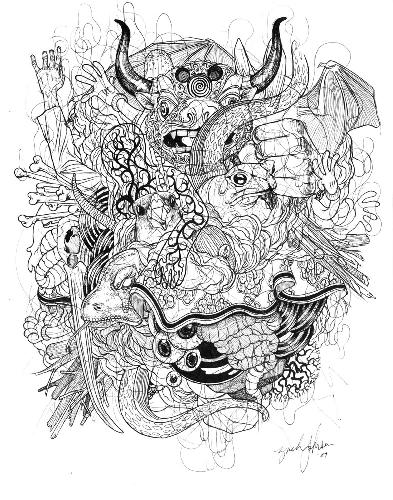 Bull-Pile