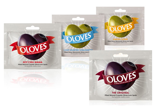 Oloves packaging