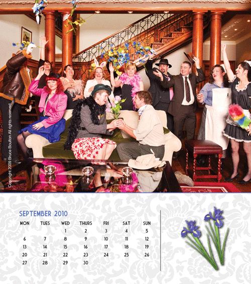 Crisis Charity Calendar Design