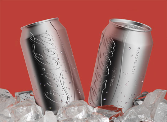 naked Coke can