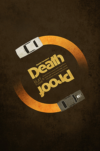 Quentin Tarantino Film Poster Designs