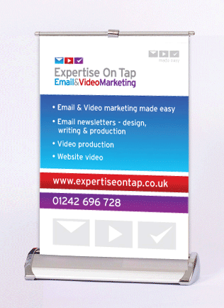 Expertise On Tap - Popup Banner Design