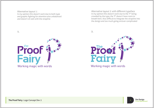 Logo Design Process – The Proof Fairy
