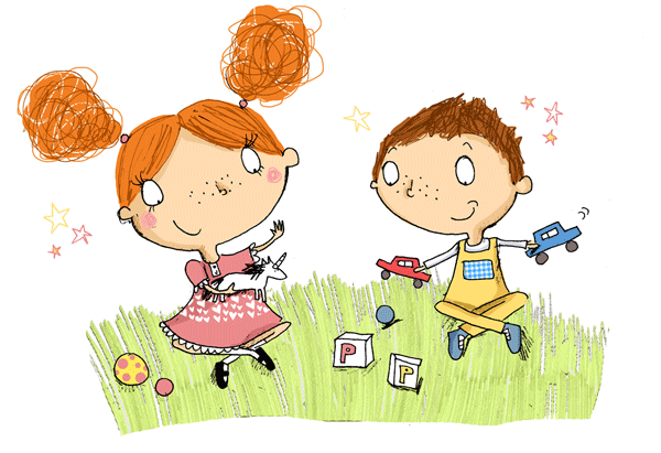 Character illustration - Clare Elsom