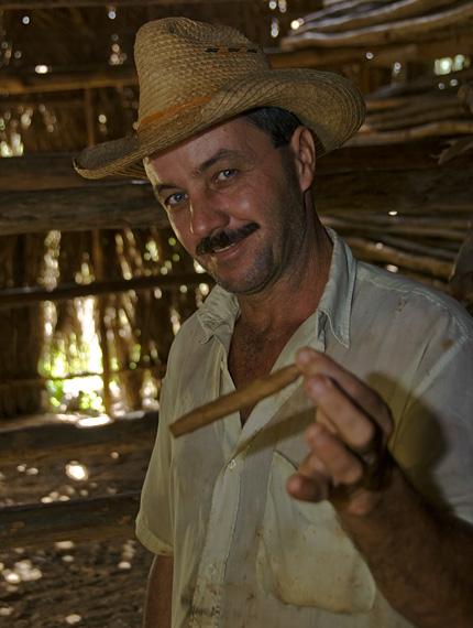 man and cigar