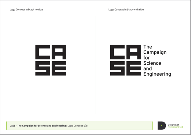 Campaign for Science and Enginnering Logo Design