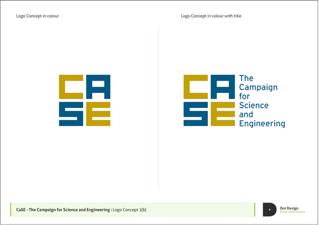 Campaign for Science and Engineering Branding Design