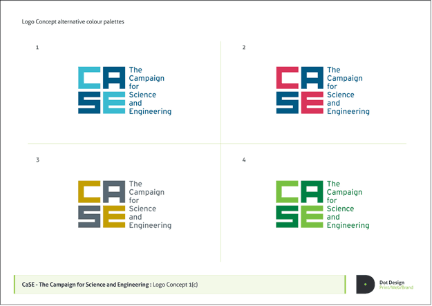Campaign for Science and Engineering Logo Design