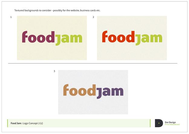 FoodJam Brand Identity Design