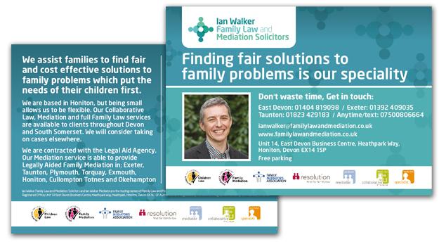 Branding website design and development ian walker family law and