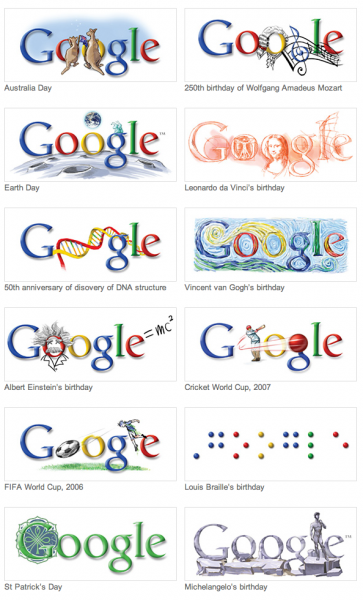 googles logo designs